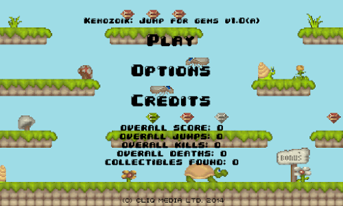 Kenozoik: Platform Game screenshot 0