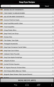 Deep Fryer Recipes screenshot 7