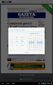 Gazeta de Piracicaba screenshot 3