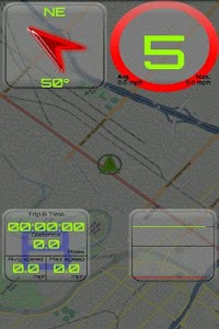 GPS Speed Lte screenshot 1