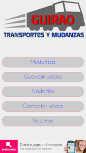 Mudanzas Guirao screenshot 0