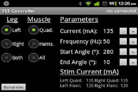 FES Cycling Controller screenshot 0