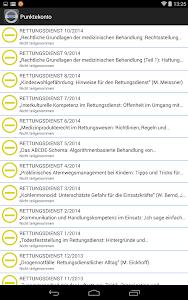 Fortbildung Rettungsdienst screenshot 7