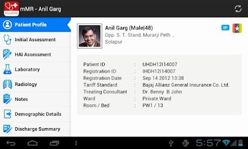 mMR (mobile Medical Records) screenshot 3