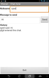 Shezan - Chat Zone screenshot 1