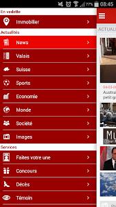 Le Nouvelliste en continu screenshot 1