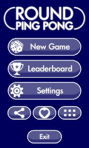 Round Ping Pong screenshot 0