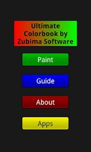 Ultimate Colorbook Free screenshot 0
