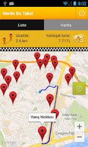 Nerde Bu Taksi screenshot 2