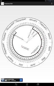 Pregnancy Calculator (Wheel) screenshot 1