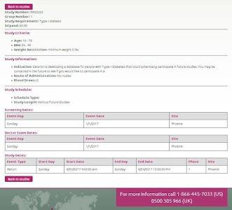 Celerion Clinical Studies screenshot 5