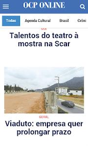OCP Online - O Correio do Povo screenshot 0