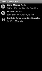 LA Metro Alerts Pro screenshot 0