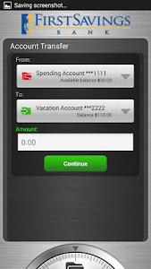 First Savings Bank screenshot 1