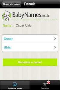 Baby Name Generator screenshot 1