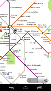 Madrid Metro Map screenshot 2