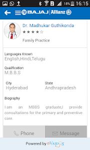 Bajaj Allianz Virtual Doctor screenshot 4