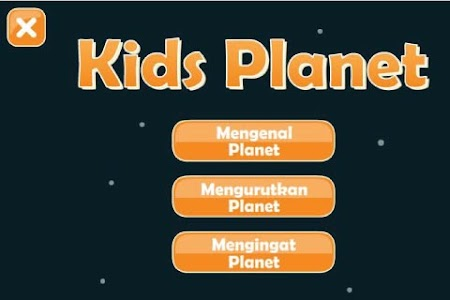 Belajar Planet - Kids Planet screenshot 0