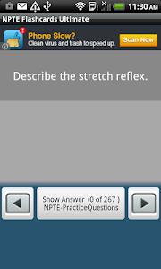 NPTE Flashcards Ultimate screenshot 1