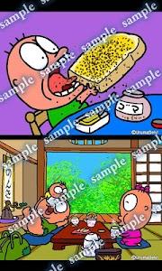 Daily Cartoon002 LWP & Clock screenshot 1
