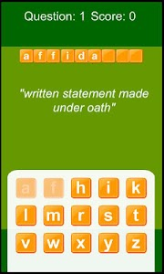 GRE Vocabulary Master screenshot 1