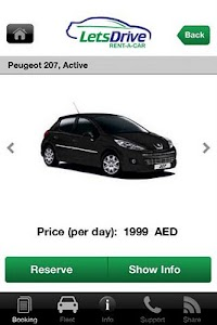 Rent Car Dubai - Lets drive screenshot 1