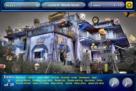 Hidden Objects Haunted Worlds screenshot 2