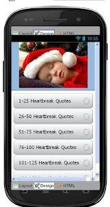 Best Heartbreak Quotes screenshot 0