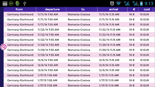 Wizz Flights screenshot 2