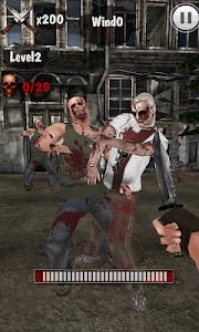 Knife King3-Zombie War 3D screenshot 1