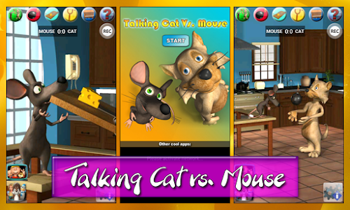 Talking Cat Vs. Mouse Deluxe screenshot 4
