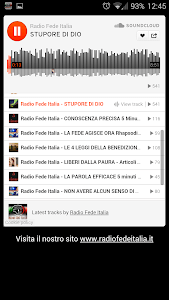 Radio Fede Italia screenshot 2