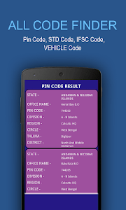 All Code Finder - India screenshot 15