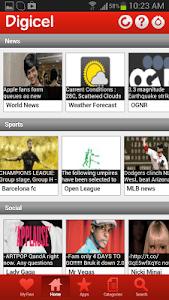 Digicel DigiINFO screenshot 1