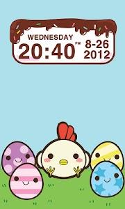 Chocolatecake Clock Widget screenshot 1
