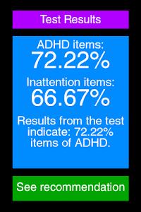 ADHD Test screenshot 3