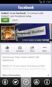 RADIO 21 screenshot 2