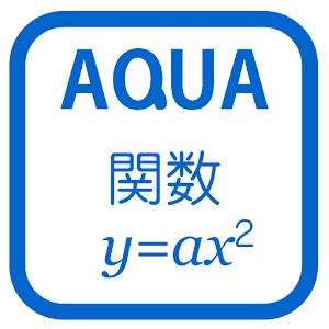 関数y=ax2 さわってうごく数学「AQUAアクア」