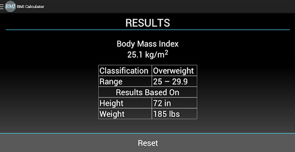 BMI Calculator screenshot 6