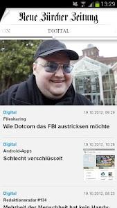 NZZ.ch screenshot 2