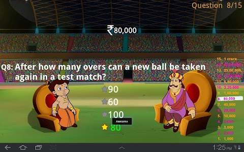 Cricket Quiz with Bheem screenshot 6