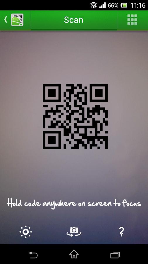 QR Droid Code Scanner (中文) - Google Play Android 應用程式