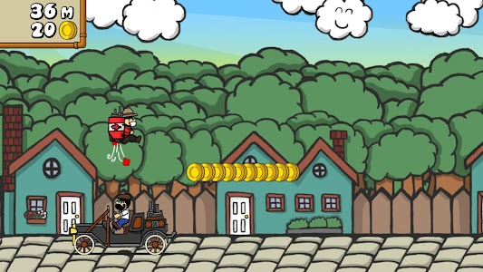 Dr. Gentleman's Jetpack Run screenshot 15