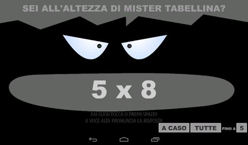 Mister Tabellina screenshot 7