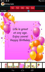 Birthday Cards screenshot 8