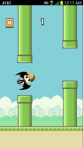 Kris Flying Game screenshot 3