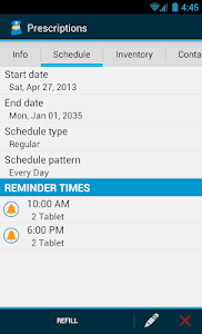 Med Helper Pro Pill Reminder screenshot 5