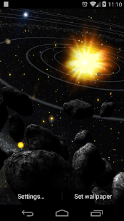 Asteroid Belt Live Wallpaper - Android Apps on Google Play