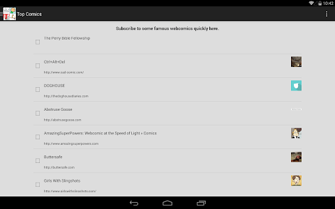 My WebComic Reader screenshot 7
