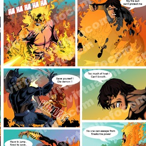 Comics design India screenshot 9